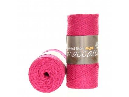 Šňůry Abigail 3mm - 09 růžová