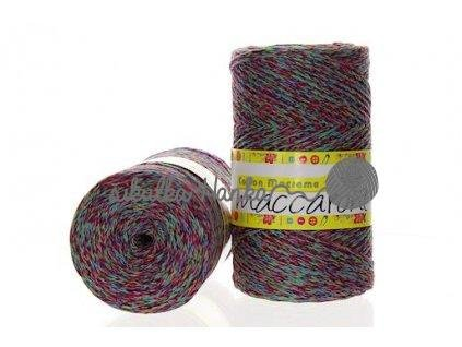 Cotton macrame melange 08