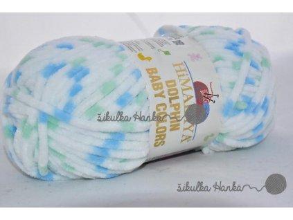 Dolphin baby colors 80409 modro-zelená
