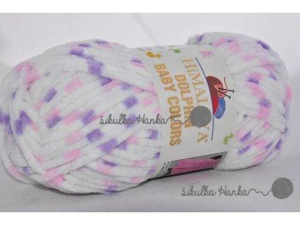 Dolphin baby colors 80410 fialovo-růžová
