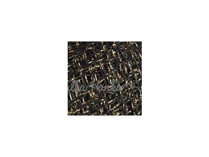 Camellia 413 černo-zlatá