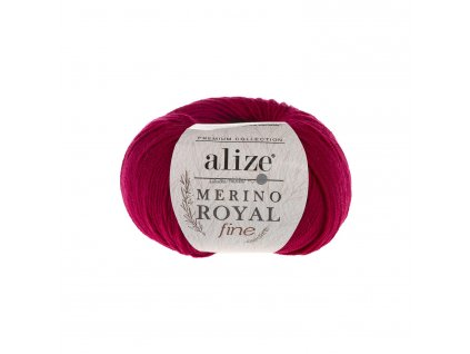 Merino royal FINE 390 cherry