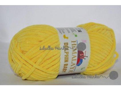 Dolphin baby 80313 žlutá
