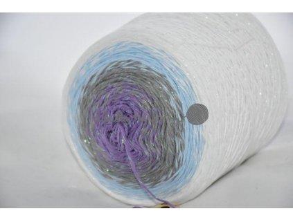 Candy Opal 8465 bílo-modro-šedo-fialová