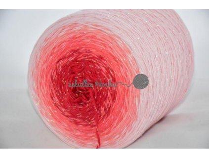 Candy Opal 8335 červeno-světlá