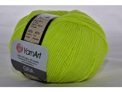 Gina 58 žlutá neonová