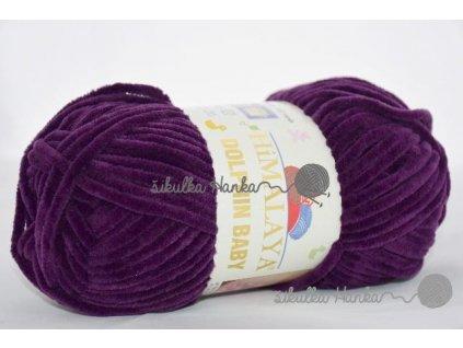 Dolphin baby 80328 tmavě fialová