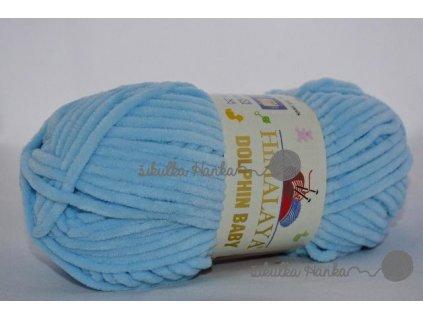 Dolphin baby 80306  sv. modrá