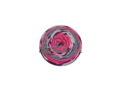 Sweet roll 31 růžovo-šedá mel.