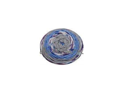 Sweet roll 32 modro-šedá mel.