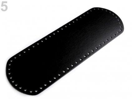 Dno na kabelku 12x36cm černá
