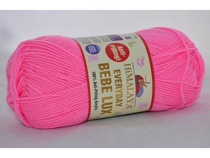 Everyday bebe lux 444 zářivá růžová