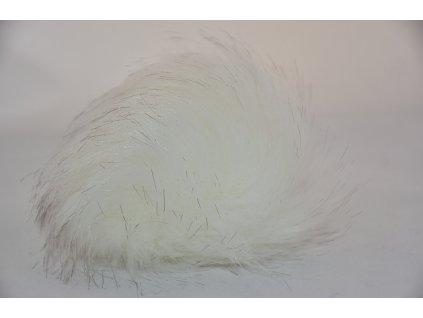Bambule 12cm 1 bílá s melírem