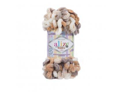 Puffy color 5926 hnědo-béžová