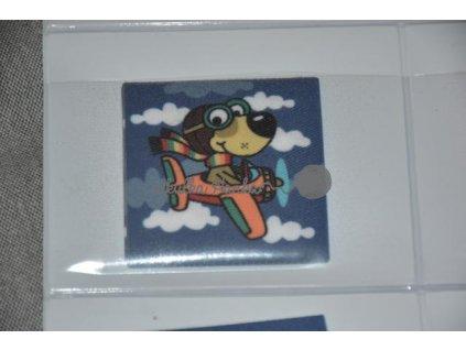 Nažehlovačka Pes v letadle (71950/1)
