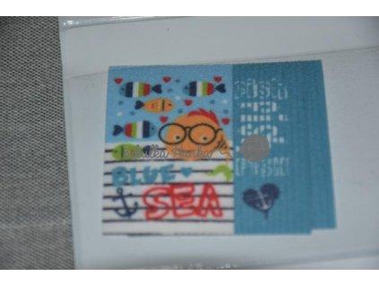 Nažehlovačka Ryba Blue Sea (71951/1)