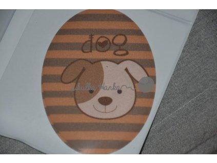 Nažehlovačka ovál pes (71980/7)