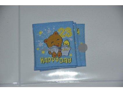 Nažehlovačka méďa Happy day (71954/6)