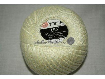 Příze Yarn Art Lily 0326 máslová