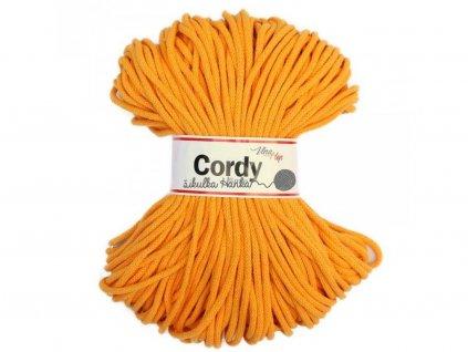 Cordy šňůry - žlutá
