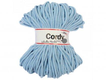 Cordy šňůry - světle modrá