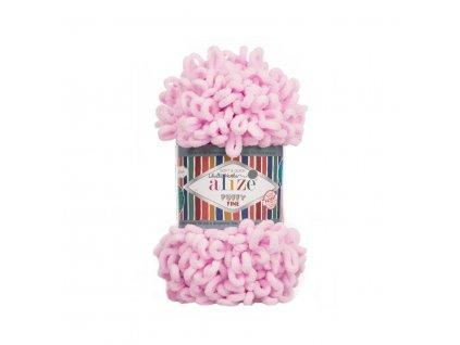 Puffy FINE 194 sv.růžová