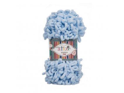 Puffy FINE 218 sv.modrá