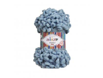 Puffy FINE 280 modro-šedá