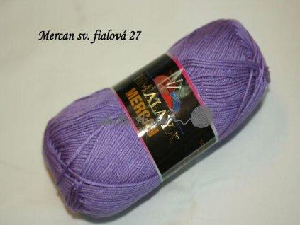 Mercan sv. fialová 27