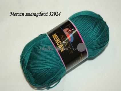 Mercan smaragdová 52924