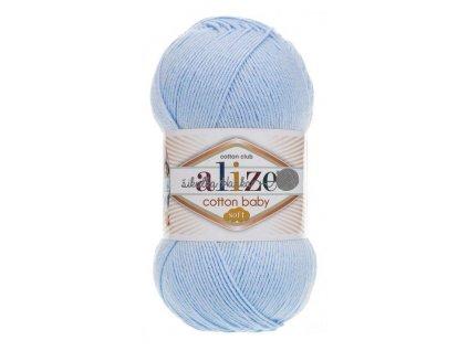 Cotton baby soft 183 dětská modrá