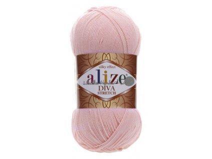 Alize Diva stretch 363 světlá růžová
