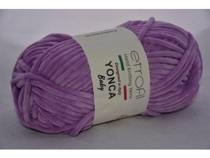 Yonca baby tmavá lila 70607
