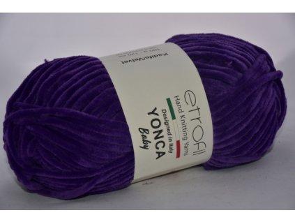 Yonca baby tmavě fialová 70610