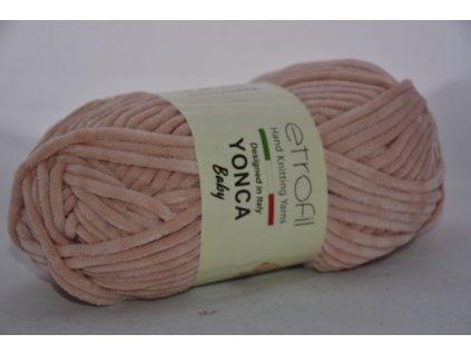 Yonca baby pudrově růžová 70318