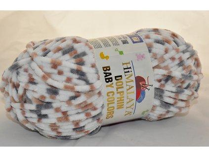 Dolphin baby colors 80416 hnědo-šedá