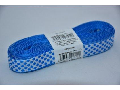 Stuha plátnová 5000 modro-bílá