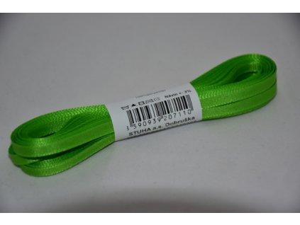 Stuha taftová 4mm 307 jarní zeleň