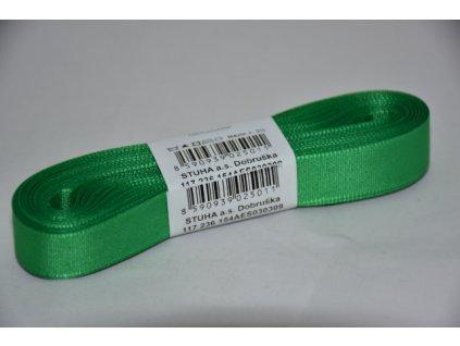Stuha taftová 15mm 309 lesní zelená