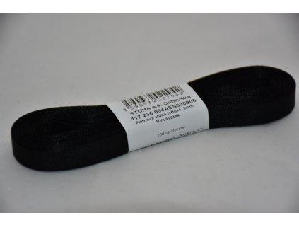 Stuha taftová 9mm 900 černá