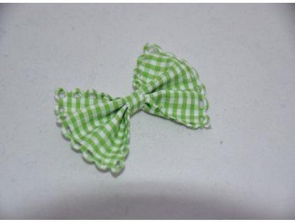 Aplikace mašlička kostka zelená