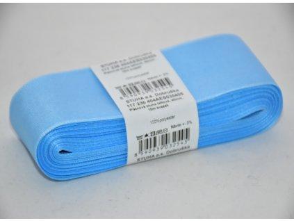 Stuha taftová 40mm 405 sv.modrá