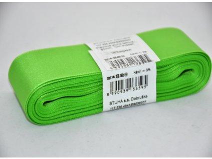 Stuha taftová 40mm 307 jarní zelená