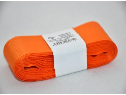 Stuha taftová 40mm 617 oranžová