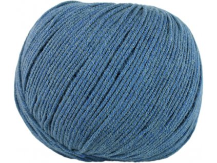 Jeans - Vlna Hep 8113 středně jeansová