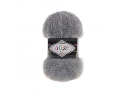 MOHAIR CLASSIC 412 Grey Melange