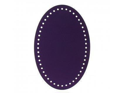 22107 99601 ekokuze fialova oval 26x17cm