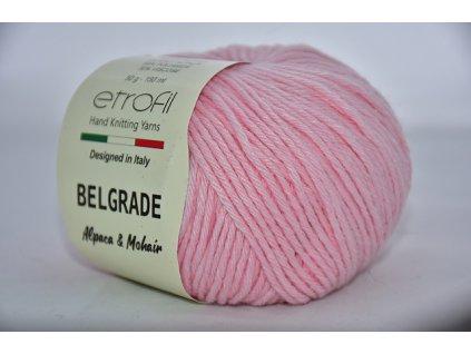 Příze Belgrade 04060 světle růžová