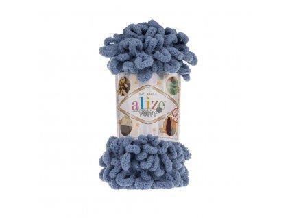 Puffy 374 modro-šedá