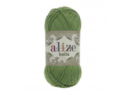 Příze Alize Bella 492 trávová zelená
